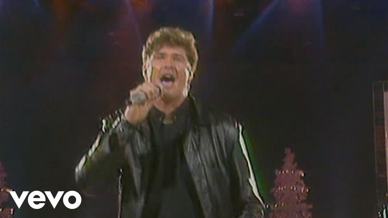 David Hasselhoff - Looking For Freedom (Ein Kessel Buntes 22.12.1990 ...