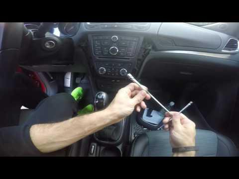 Tutorial smontaggio plancia Opel Mokka per montaggio led vano usb