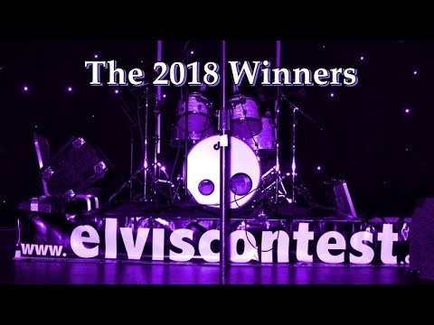 Winners - 2018 - Europe's Largest Annual Elvis Tribute Artist Contest - Birmingham