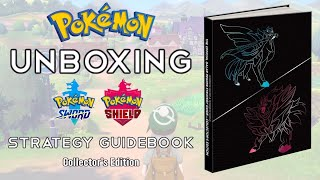 Unboxing The Pokémon Sword & Pokémon Shield Strategy Guidebook (Collector's Edition)