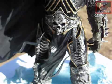 World Of Warcraft Arthas Menethil The Lich King Deluxe Youtube