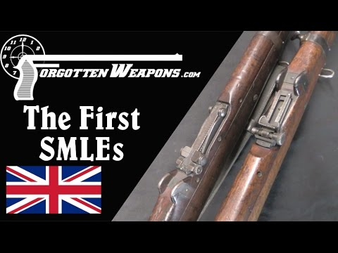 The Very First Troop Trials SMLE Rifles
