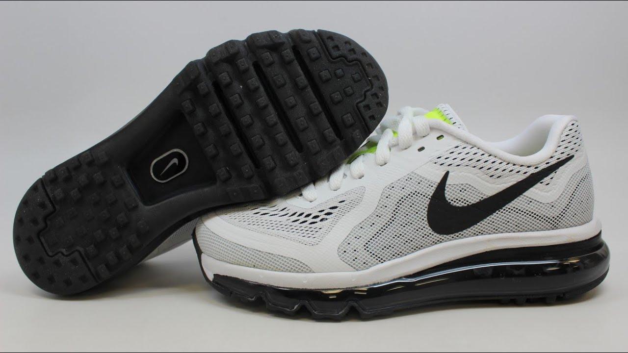 Nike Air Max 2014 621078-100 KixRx.com White/Black-Platinum-Volt Womens