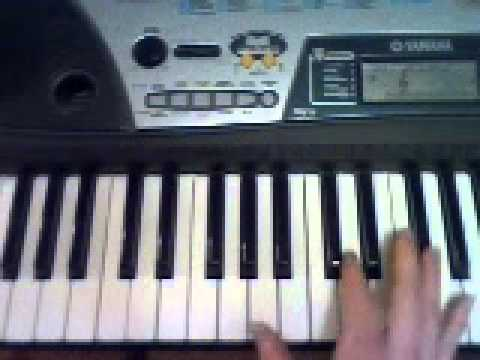 Blowin in the Wind Piano tutorial - YouTube