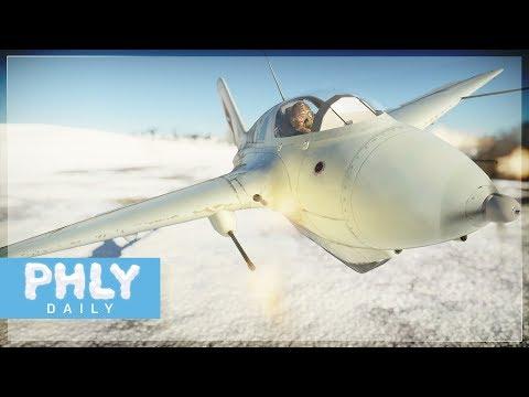 The Nazi Secret Rocket Interceptor... now better (War Thunder Rocket Fighter Gameplay)