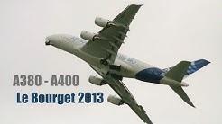 A380 - A400M LeBourget 2013 HD