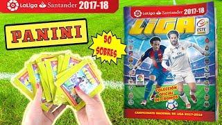 Video LIGA ESTE 2017-18 Liga Santander | Unboxing Caja 50 Sobres + Albúm Cromos | Panini download MP3, 3GP, MP4, WEBM, AVI, FLV November 2017