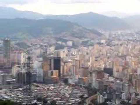 Caracas from the Teleferico