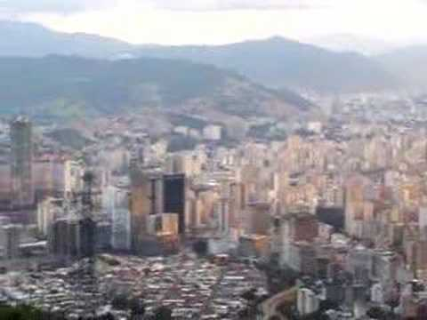 Caracas from the Teleferico