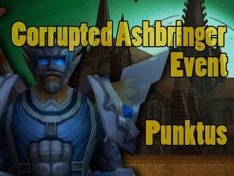 how to get corrupted ashbringer apperance