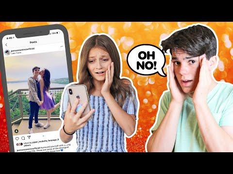 My CRUSH REACTS To My IPHONE Challenge **CAMERA ROLL EXPOSED**📲💔  Jentzen Ramirez