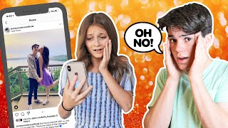 My CRUSH REACTS to my IPHONE Challenge **CAMERA ROLL EXPOSED**📲💔| Jentzen Ramirez