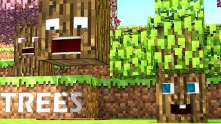 Repeat youtube video Talking Blocks: Trees (Minecraft Animation)