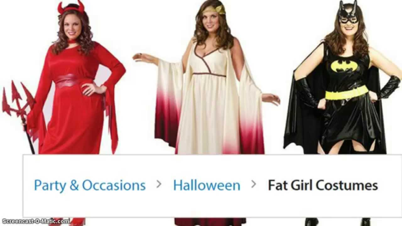 wal mart sells fat girl costumes for halloween youtube - Halloween Costume For Fat People