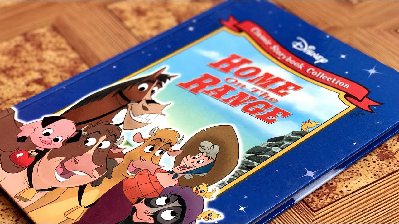 Disney S Home On The Range Classic Storybook Review Youtube