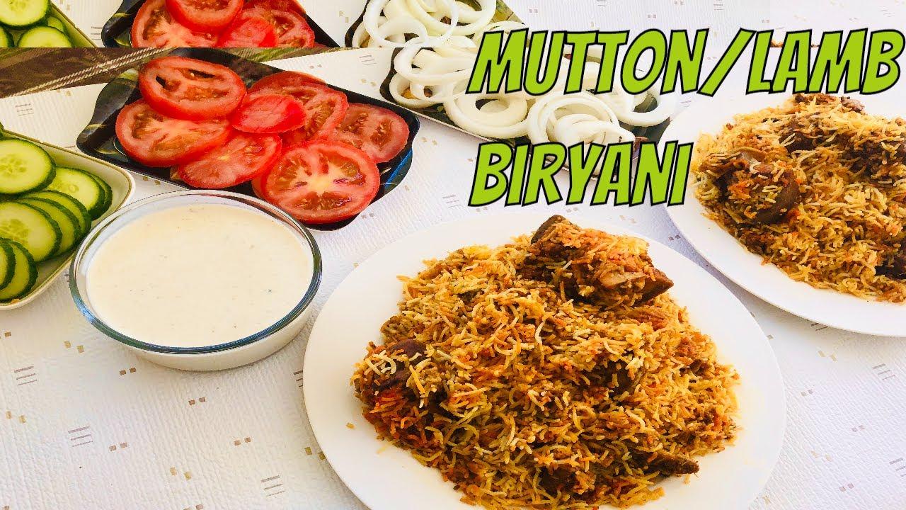 Mutton Biryani Recipe    Easiest Mutton/Lamb/Chicken Biryani Recipe   Hyderabadi    Bombay    sindhi