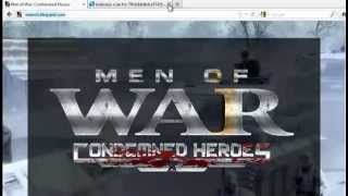 Men of War: Condemned Heroes KeyGen+Crack Free Download!