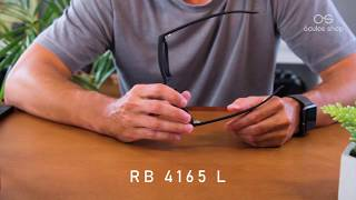Óculos Ray Ban Justin RB 4165 - Unboxing
