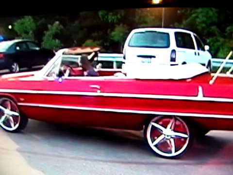 64 Impala Convertible With Air Bags Digital Dash Ostrich Interior And Some Sweet Kandy Youtube