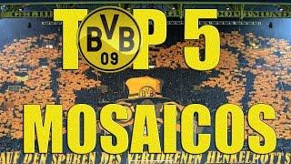 TOP 5 MOSAICOS TORCIDA BORUSSIA DORTMUND - INCRÍVEL