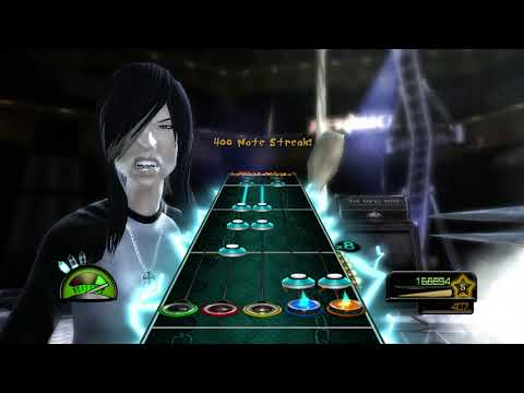 Guitar Hero Metallica Ace Of Spades Expert Guitar 100% FC (281095)