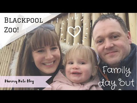 Visit to Blackpool Zoo March 2018 | Family Fun Day