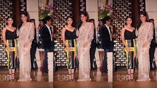 Alia Bhatt With Katrina Kaif At Ambani's Party For Mayor Of London