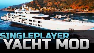 GTA 5 Yacht Mod in Singleplayer Storymode