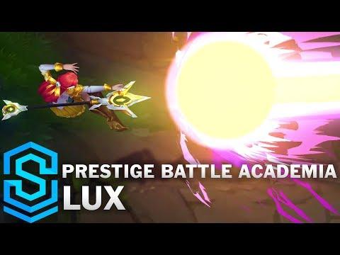 Prestige Battle Academia Lux Skin Spotlight - Pre-Release - League of Legends