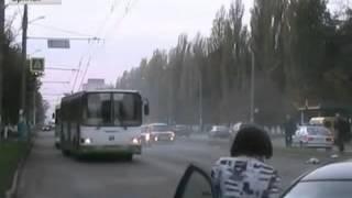 Брянская трагедия  Съемка из полицейской машины