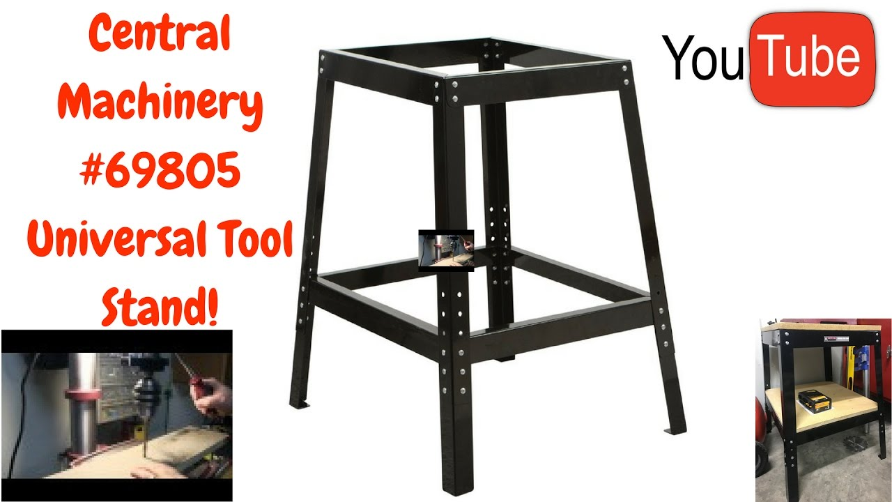 Harbor Freight 69805 Universal Tool Stand Youtube