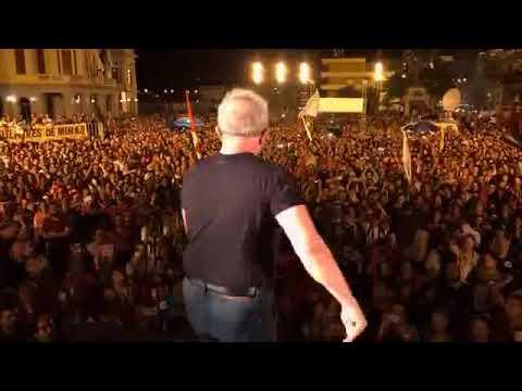 Lula encerra Caravana em Belo Horizonte e Cresce em 2018