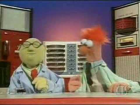 Image Gallery lab beaker muppets