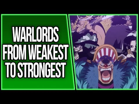 The Warlords Ranked From Weakest to Strongest   ONE PIECE THEORY   ワンピース
