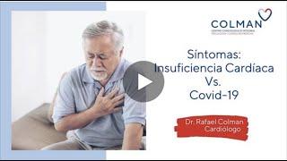 Diferencia los síntomas entre COVID- 19 e insuficiencia cardíaca