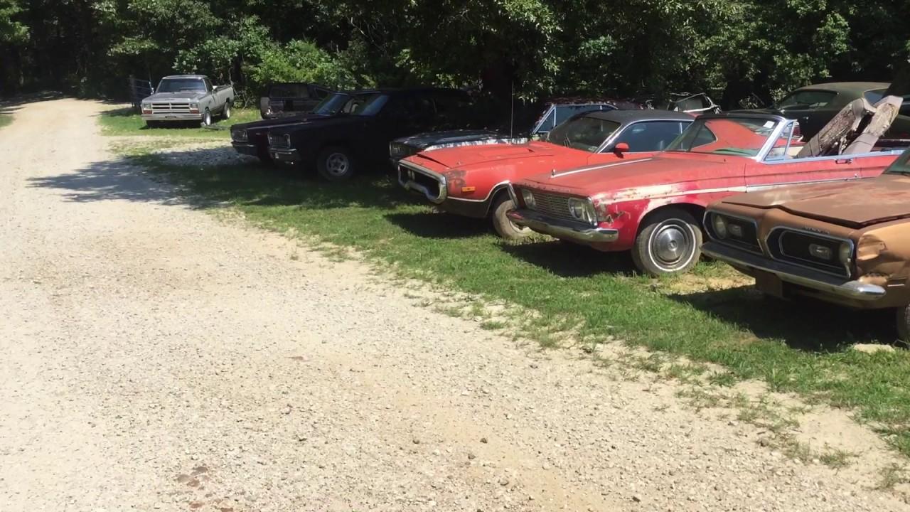 Classic Car Junk Yards >> Mopar salvage yard, Missouri - YouTube