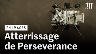 L'atterrissage de Perseverance sur Mars en vidéo
