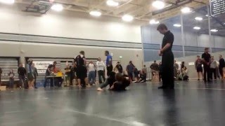 Submission Hunt 2015 Courtney NOGI Finals