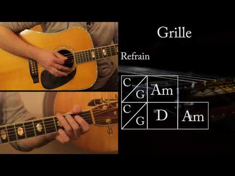 Cours de guitare Chanson Française / Rock