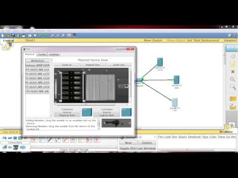 FTP, HTTP,DNS server and pc in packet tracer