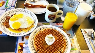 Gambar cover Waffle House for Breakfast and a Walkthrough of the World's Largest McDonald's!