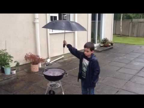 What happens when you have a BBQ in Ireland!!