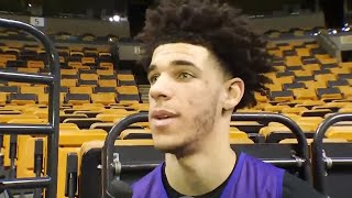 Lonzo Ball Reacts To LIANGELO BALL Arrest In CHINA