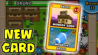 BTD Battles -  New Card: Monkey Bank