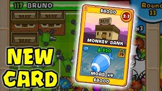 BTD Battles -  New Card: Monkey Bank