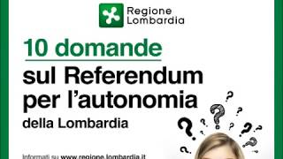 10 domande sul Referendum per l'autonomia