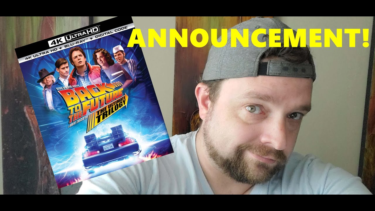 Back to the Future 4K Announcement