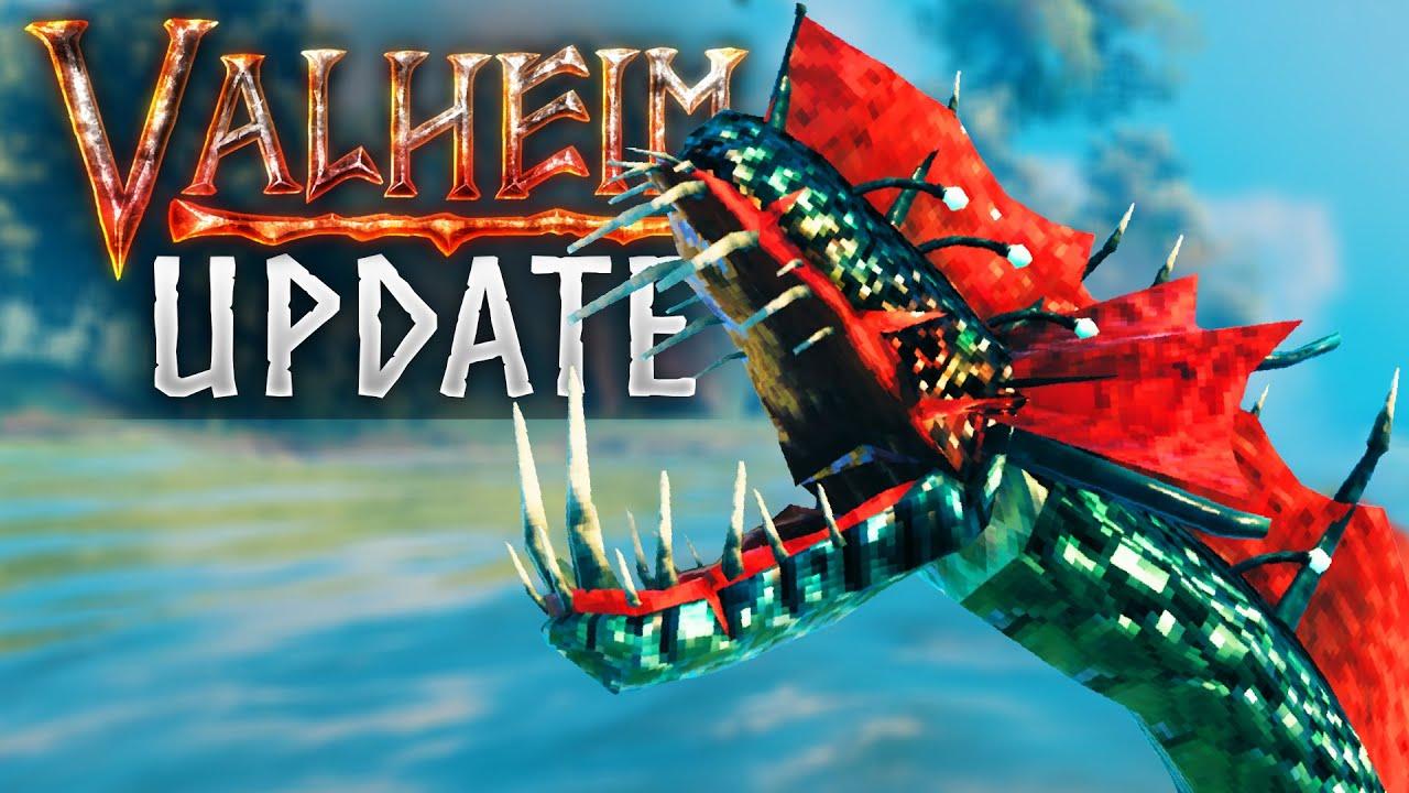 New Update! SERPANT CHANGE, TERRAIN TWEAKS & BUGFIXES! Valheim Update 0.154.1