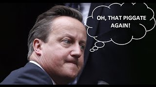 PigGate! Internet trolls Cameron alleging he put 'private part' into dead swine