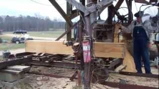 Saw Mill ,  Home Made Saw